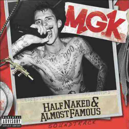 half naked and almost famous Rising us rapper machine gun kelly has released an ep titled 'half naked and  almost famous', and the title track samples kiwi synth-pop act.