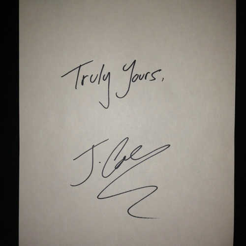 jcole trulyyours cover
