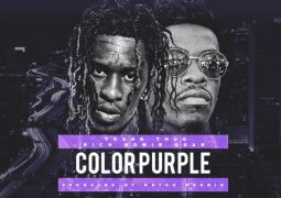 young thug rich home color purple