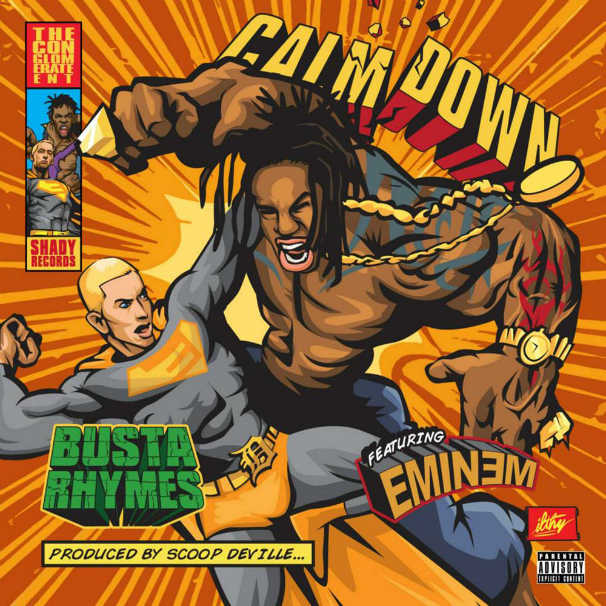 Busta Rhymes – Calm Down Feat. Eminem (Lyric Video)