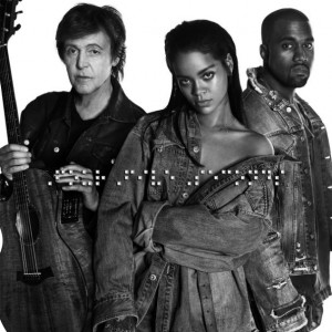 Rihanna, Kanye West & Paul McCartney's FourFiveSeconds