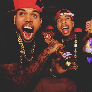chris brown tyga